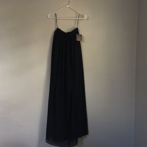 "Lulus ""midnight memories"" maxi skirt"